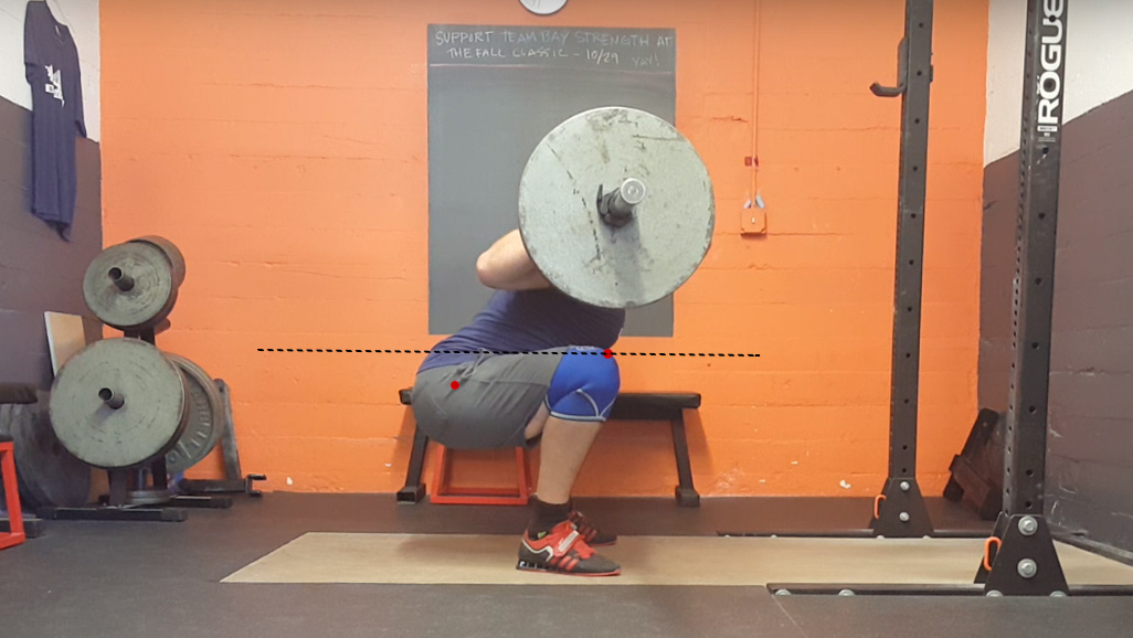 Below Parallel Squat