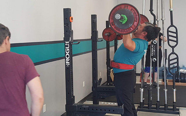 The deadlift is one of the four basic lifts in barbell training.