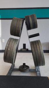 Round iron plates