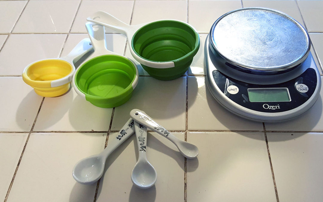 Why you need to measure and track your food (and how to do it)