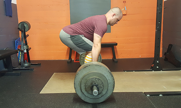 Separating steps 2 and 3 in the deadlift